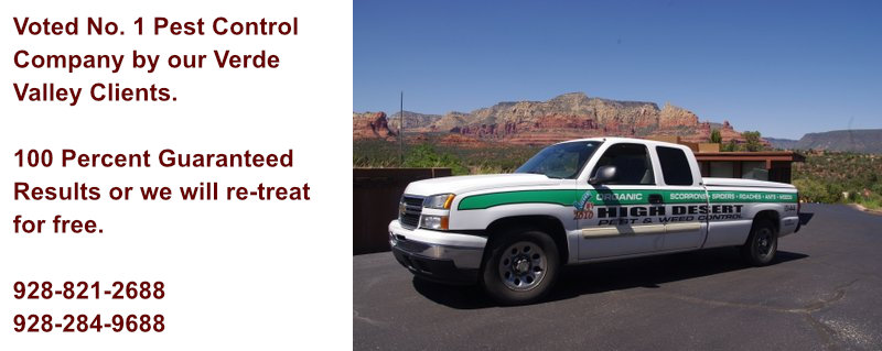 High Desert Pest and Weed Control Truck